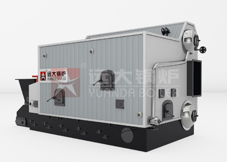 Central Heating Wood Fired Steam Boiler Double Drum Biomass Hot Water Boiler