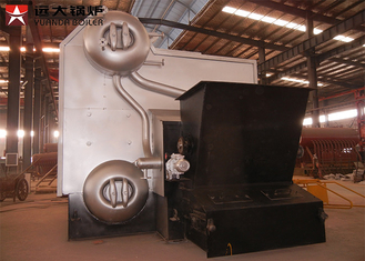 Industrial Water Tube Wood Fired Boiler Corrugated 14 Bar Capacity 4 Tons